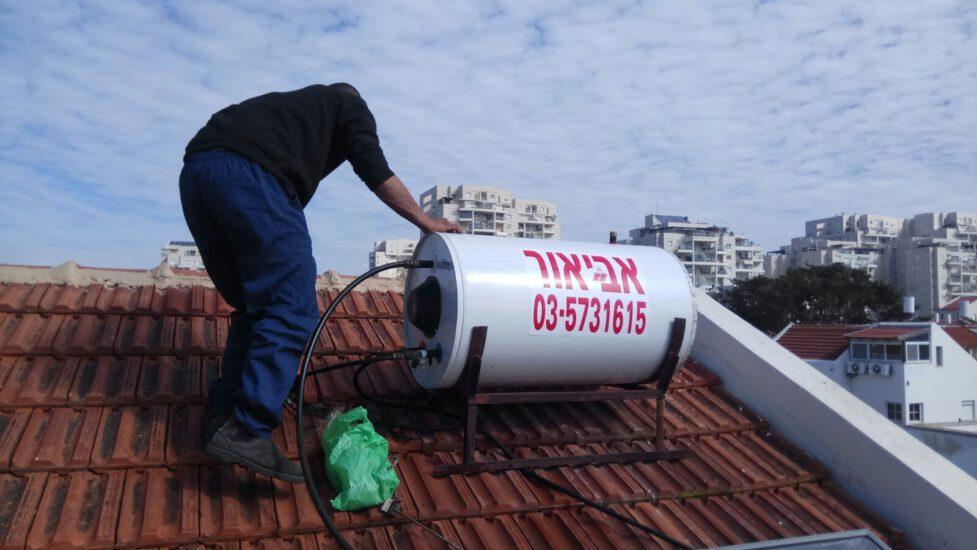 טיפים לזיהוי דוד השמש על הגג
